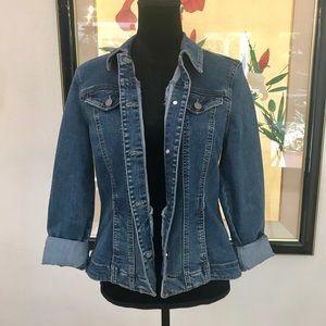 Vintage boho urban Denim Jean Jacket Coat